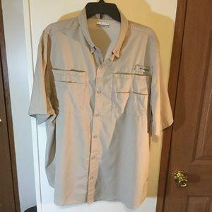 Columbia PFG XL Omni Shade Vented Fishing Shirt